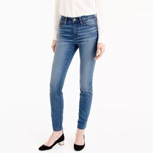 J. Crew Med Wash Lookout High Rise Skinny Jeans 25
